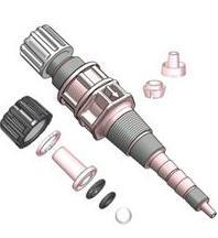 Клапан впрыска реагента ПП–Керамика для насосов до 80 л/ч